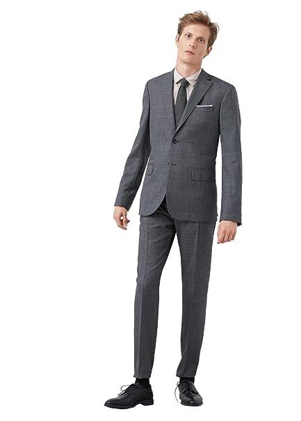 MANGO MAN - Chaqueta de traje - para hombre Mittelgrau ...