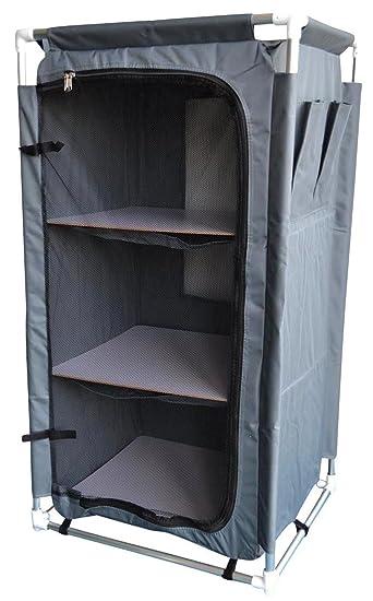 Livitat® Campingschrank Faltschrank Zeltschrank 105 cm hoch Schrank ...