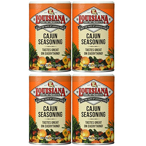 (Louisiana Cajun Seasoning, 8 oz, (pack of 4))