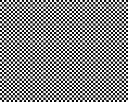 Model Train Scenery Sheets - O Scale Black & White Checkerbo