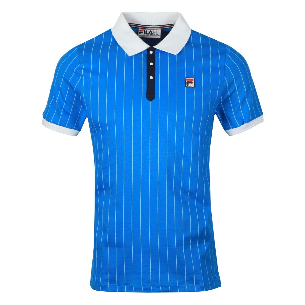Fila Vintage Bb1 Polo Shirt Blue: Amazon.es: Ropa y accesorios