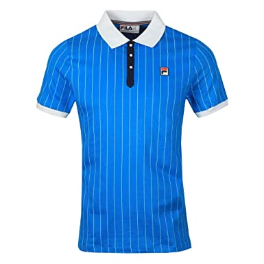 Fila Vintage Bb1 Polo Shirt Blue: Amazon.es: Ropa y accesorios
