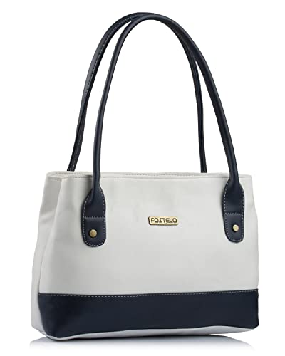 f43d21d08ed Fostelo Zara Women's Handbag (White): Amazon.in: Shoes & Handbags