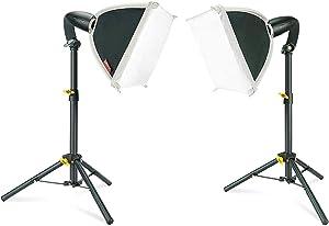 Linco Lincostore Studio Lighting Video Portrait Table Top Desk Light for Photography Shooting Softbox Lights Kit 8x8 inch LED Studio Bulb