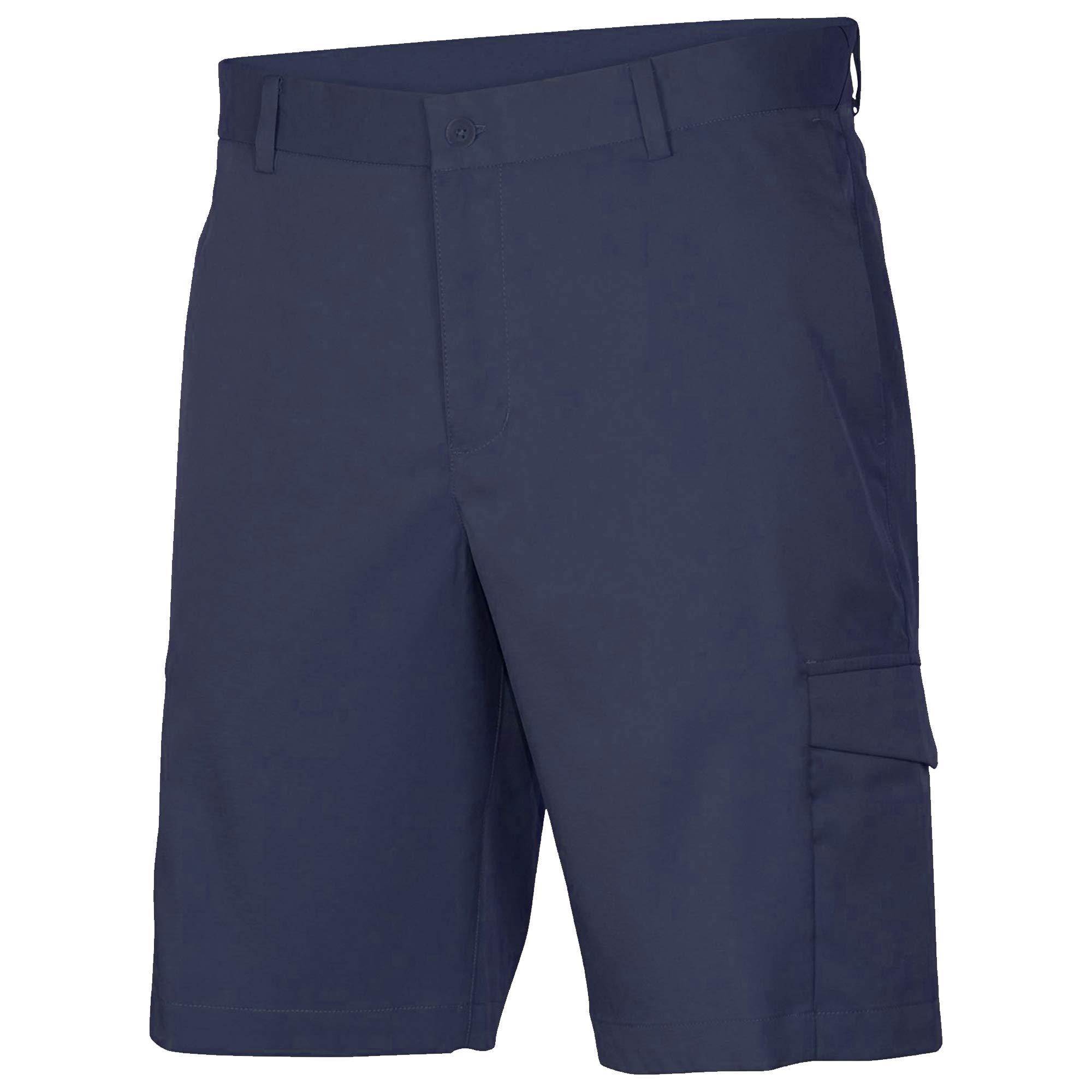 Nike Flex Standard-Fit Cargo Men's Golf Shorts 882086 410 (38) Navy by Nike