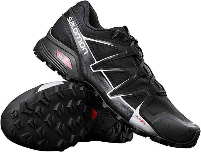 Salomon Speedcross Vario Outdoorschuh in Farbe schwarz