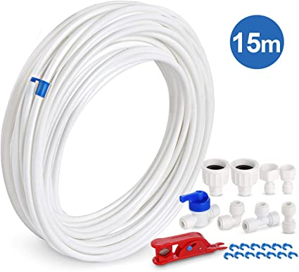 Frigorifero CONGELATORE BEKO ACQUA 5 metri di tubi Tubo Filtro Kit di collegamento del tubo flessibile