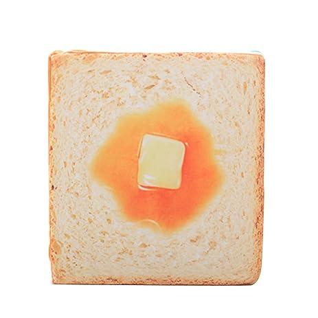 Home Decor Toast Sliced Bread Back Cushion Small Pet Dog Cat Mat Pad Plush  Soft Pillow