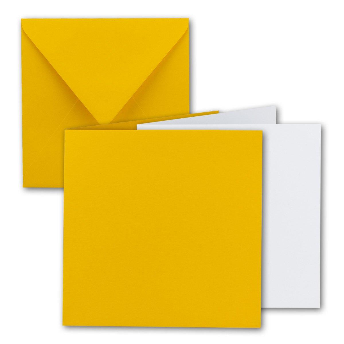Quadratisches Falt-Karten-Set I 15 x 15 cm cm cm - mit Brief-Umschlägen & Einlege-Blätter I Royalblau I 75 Stück I KomplettpaketI Qualitätsmarke  FarbenFroh® von GUSTAV NEUSER® B07D4G5Z2V | Viele Stile  98d21b