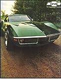 1971 Chevrolet Corvette Stingray Sales Brochure