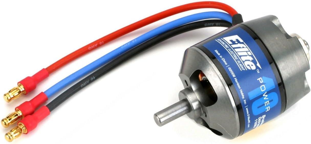 E-flite Power 10 Brushless Outrunner Motor, 1100Kv: 3.5mm Bullet, EFLM4010A 61tTV7Rq00L