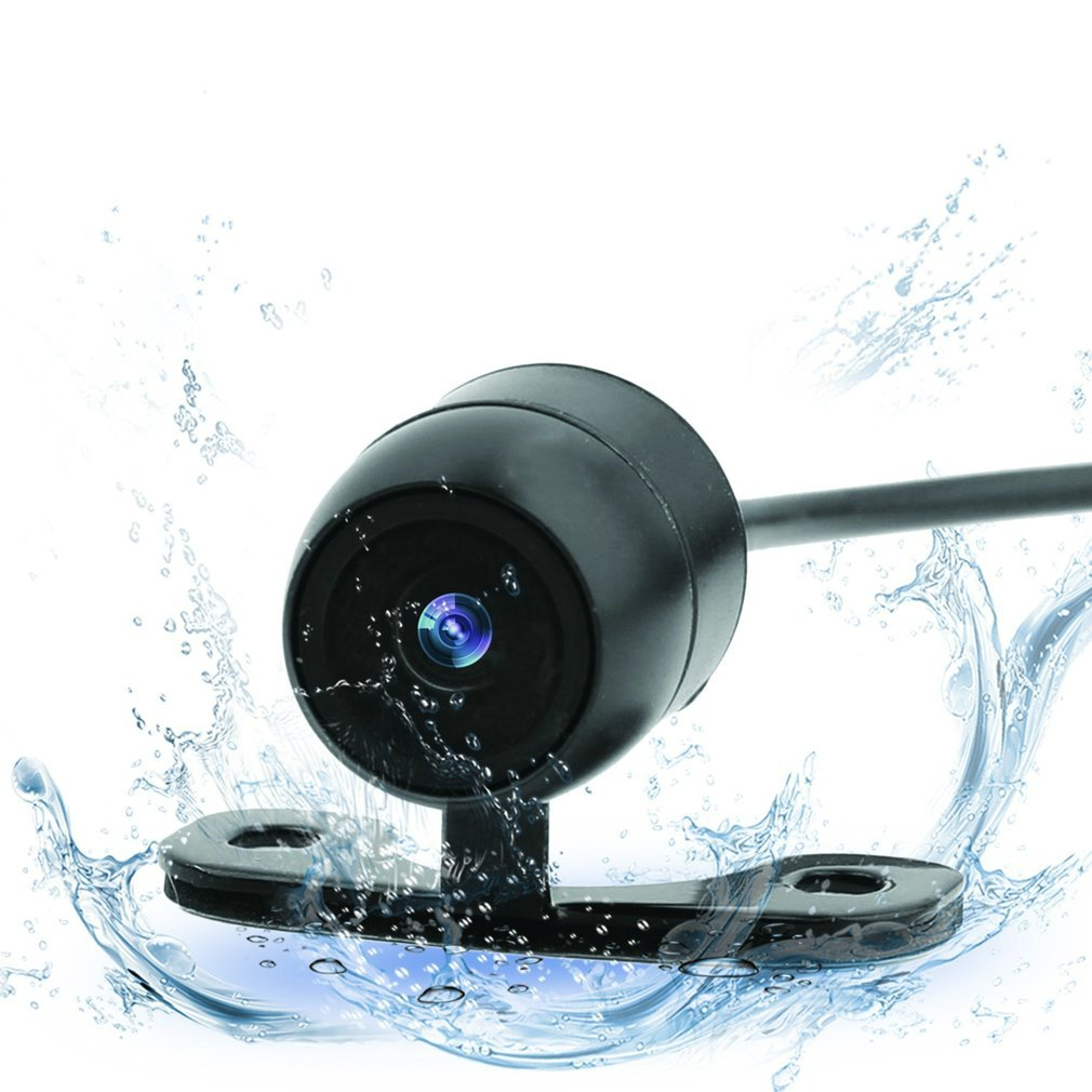 Universal Car Reversing Backup Camera Assiatance IP68 a Prueba de Agua, 170 Grados de Ancho, 12V Dooret 250