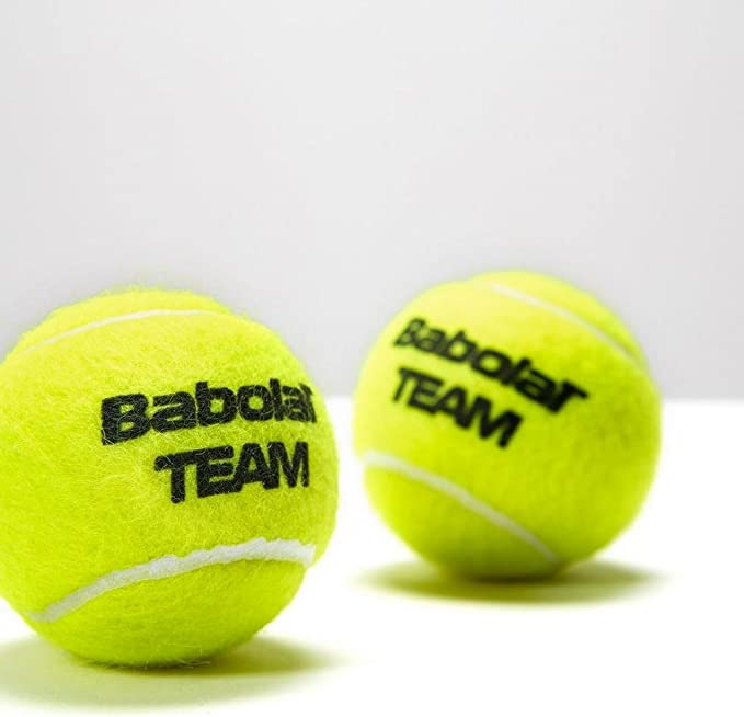 Babolat Tennisbälle Team 4er Dose Pelota de Tenis, Unisex Adulto ...