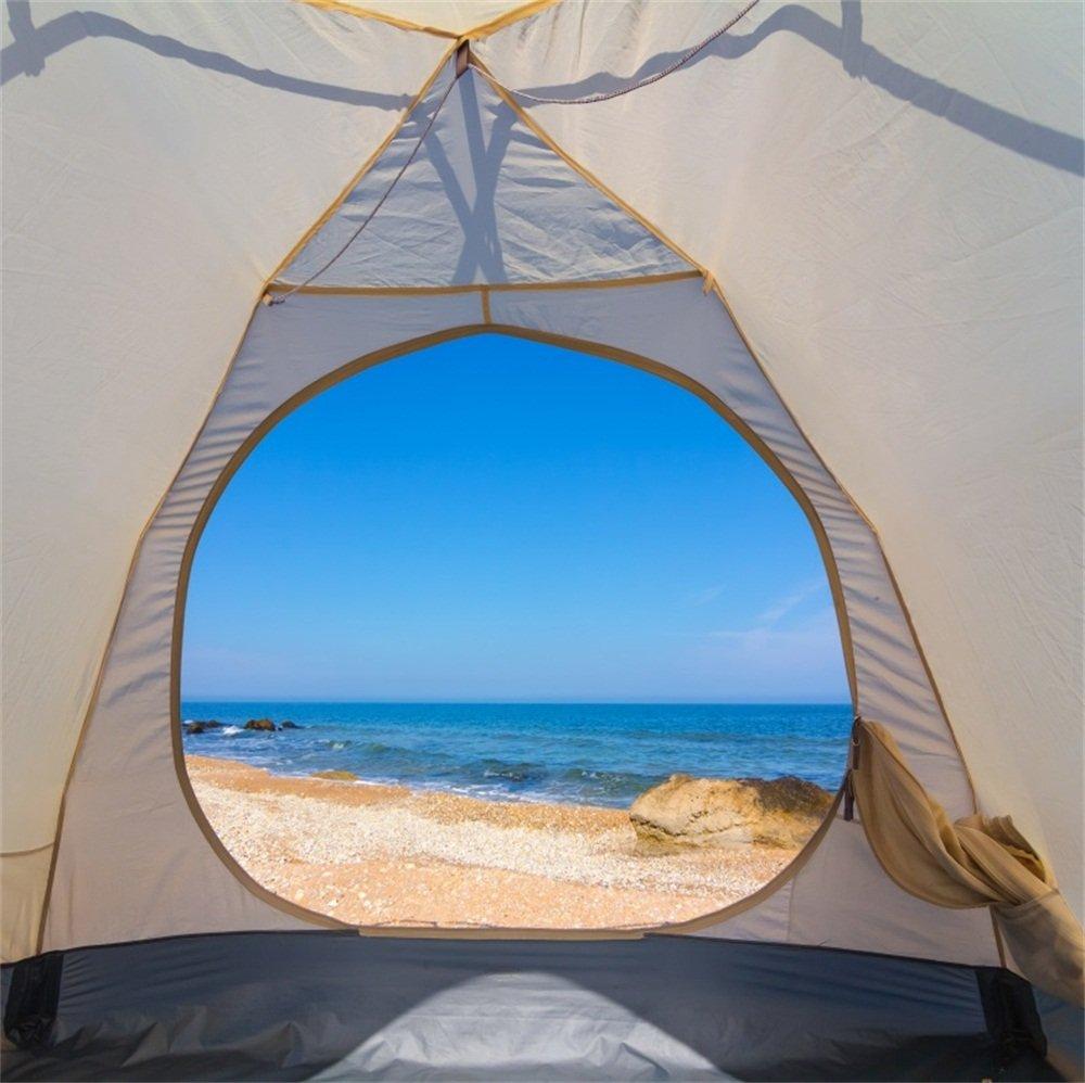 lfeey 6 x 6ftアウトドアキャンプ写真背景Holiday Camp Scout crevingテント夏Seasideビューブルースカイ海写真の写真の背景旅行写真ブース小道具   B07F7XPKVT