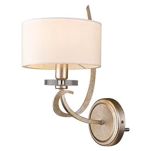 Amazon.com: Lámpara de pared de hierro creativo balcón salón ...