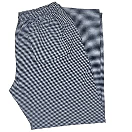 PH Gingham Check Trousers Pant for Unisex with 3 Pockets Work wear