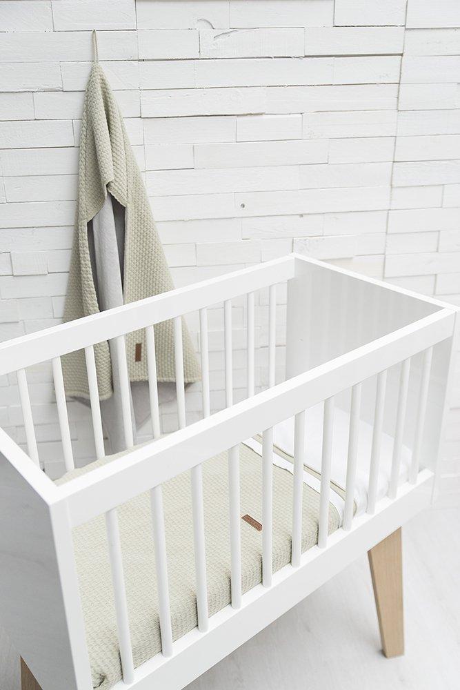 Babys Only Babydecke 70x95 cm uni Cloud grau