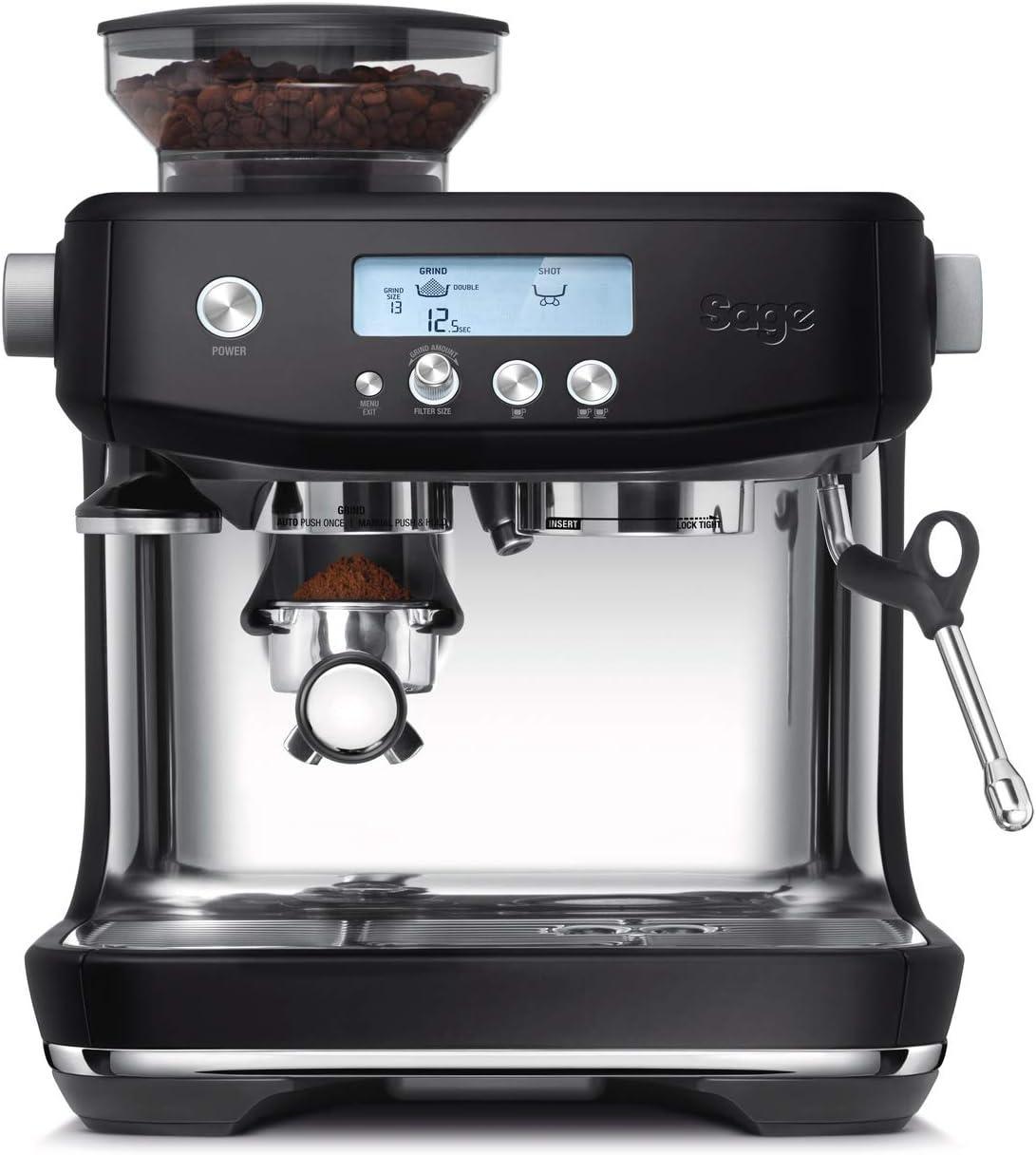 SAGE SES878BTR the Barista Pro, Cafetera espresso, Cappuccinatore ...