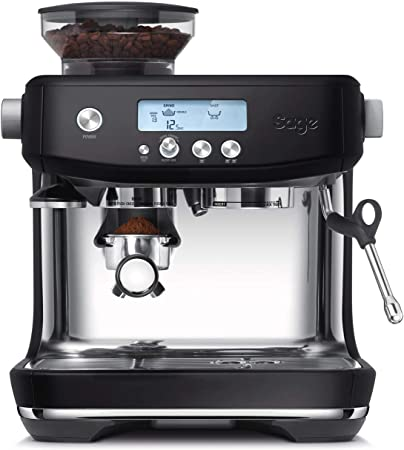 15 Bar SAGE SES875 the Barista Express Cafetera espresso negro Cappuccinatore