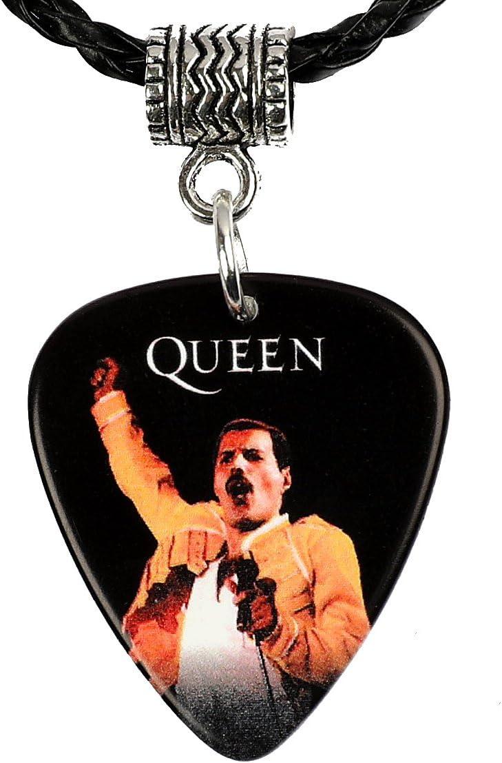 Premium Picks - Colgante con diseño de púa de Freddie Mercury de Queen: Amazon.es: Instrumentos musicales