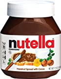 Nutella Ferrero Hazelnut Spread, 7.7 oz. Jar (Pack of 12)