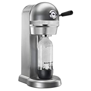 KitchenAid RKSS1121CU Sparkling Beverage Maker, Contour Silver (Renewed)