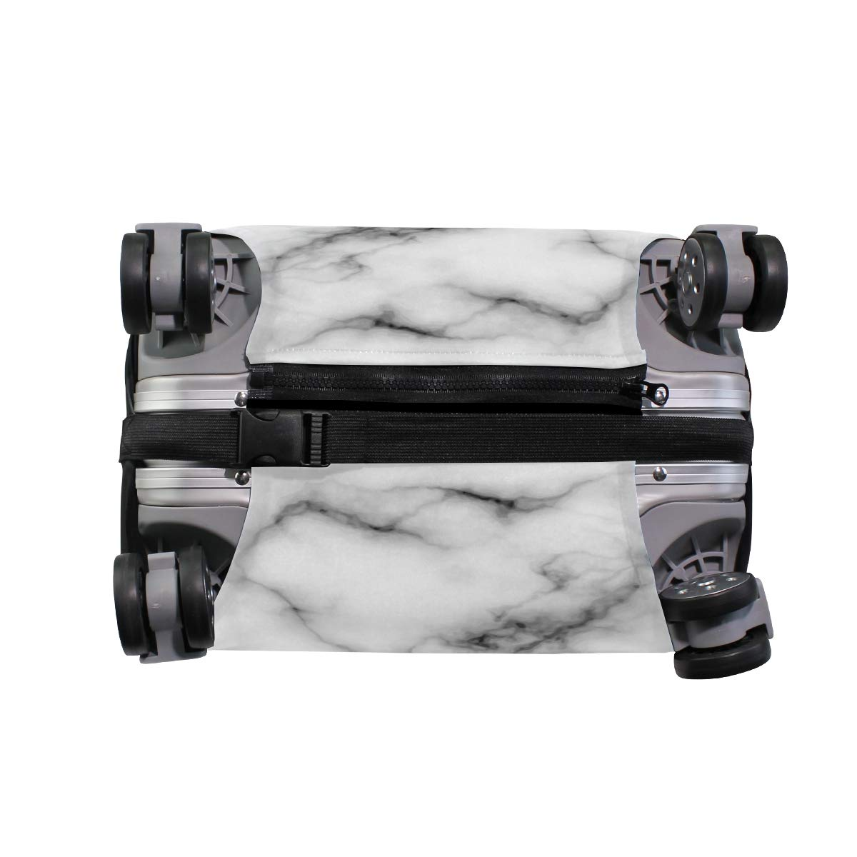 VIKKO Marble Travel Luggage Cover Suitcase Cover Protector Travel Case Bag Protector Elastic Luggage Case Cover Fits 29-32 Inch Luggage for Kids Men Women Travel
