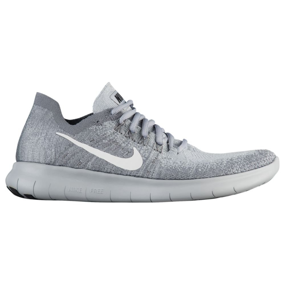 Nike Women's Free Rn Flyknit 2017 Running Shoes B07C38QSV1 12 B(M) US|Wolf Grey/White-anthracite-cool Grey