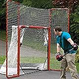 "EZGoal 4' x 6' Hockey Folding Steel 2"" Goal with"