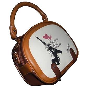 8a77323fe765 Amazon.com: BININBOX Women Retro Vintage Cute Cartoon Handbag ...