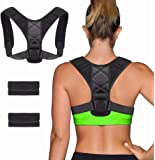 Posture Corrector for Men and Women, ShowTop Back Brace Posture Corrector for Clavicle Support and Providing Pain Relief…