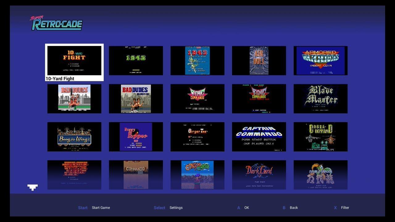 Amazon com: Retro-Bit Super Retro-Cade Plug and Play Game