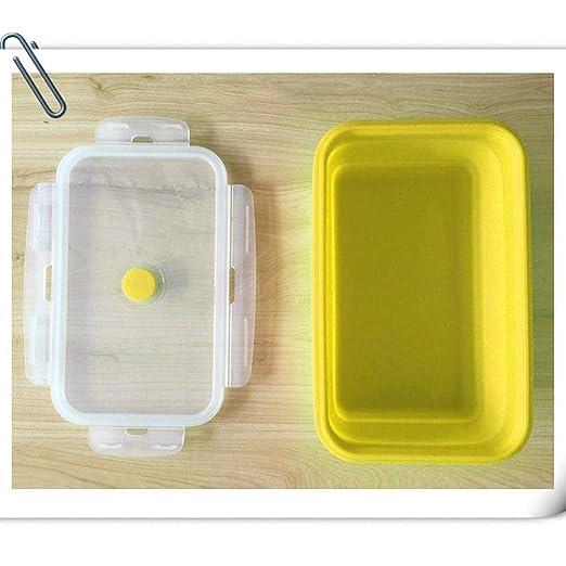 DYTJ-Lunchbox Fiambreras Bento Recipiente De Comida De Silicona ...