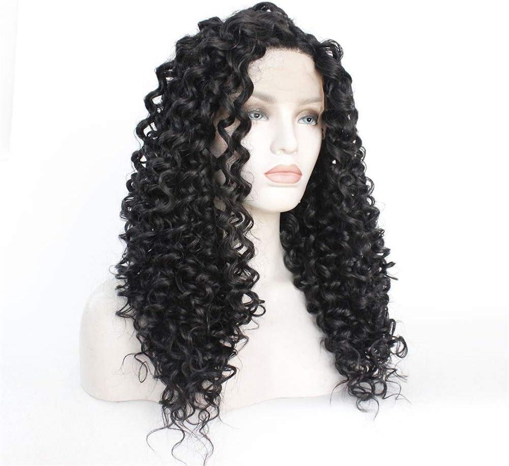 Bin Zhang Ms. Perruque longue cheveux bouclés en Europe et en Amérique (Couleur : 66 cm) 66 cm.