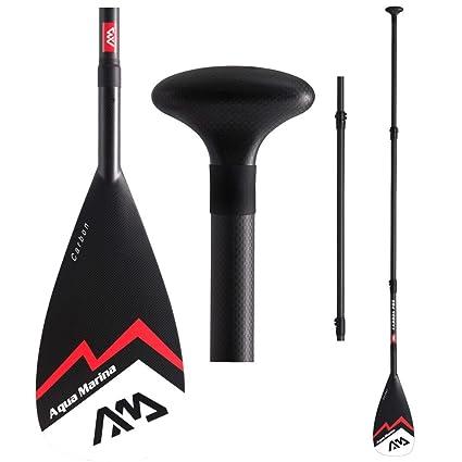 Aqua Marina Remo para Sup Rojo Tabla Surf Paddleboard Deporte Acuático Paddle