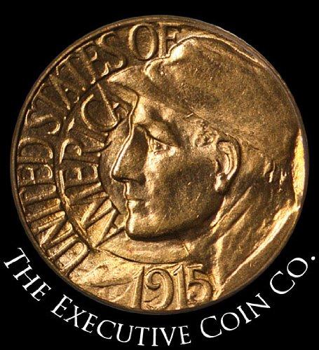 1915 S Pan-Pac Commemorative Gold Dollar PCGS MS65