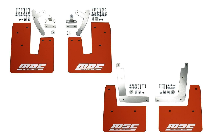 MONSTER SPORT マッドフラップ/リヤ/ショート スイフトスポーツ(ZC32S)用 787150-4850M B00M2PEZIY リヤ/ショート