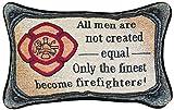 Manual Woodworkers & Weavers Word Throw Pillow, Fireman, 12.5 x 8.5