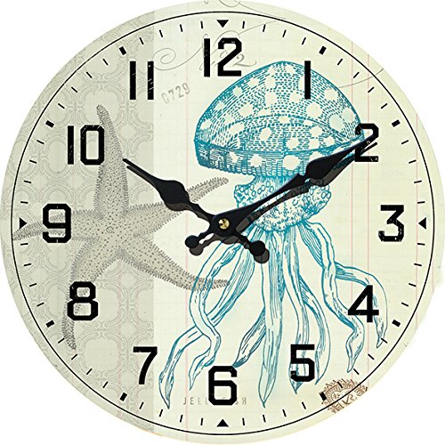61tTefUSDxL The Best Beach Wall Clocks You Can Buy