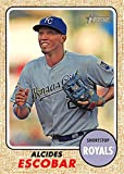 2017 Topps Heritage Baseball #284 Alcides Escobar Royals