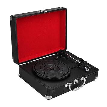 REFURBISHHOUSE Enchufe de La UE 33/45/78 RPM Bluetooth Portátil ...