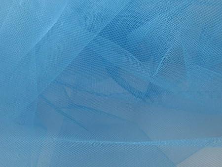 Organza Nylon türkis blau ca 145cm
