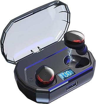 ZoeeTree True Wireless Bluetooth Headphones with 100Hs Playtime