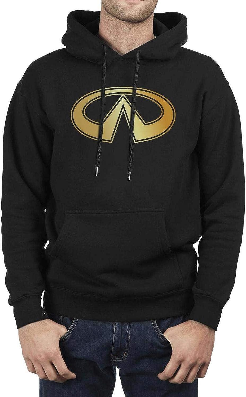 Mens Casual Hoodies Best Infiniti-3D-effect-flag-logo-cars-for-sale Print Sweaters Pocket Cool Vintage Sweatshirt
