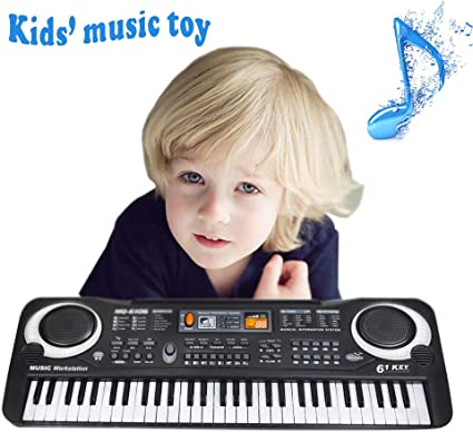 Kids piano Electronic Organ Music Song Keyboard Movable Microphone Toy