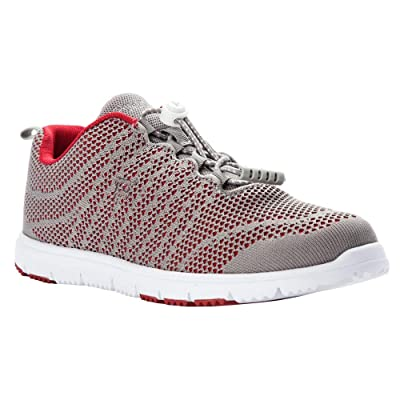 Propet TravelWalker Evo Women's Walking 8 US Grey-Crimson | Walking
