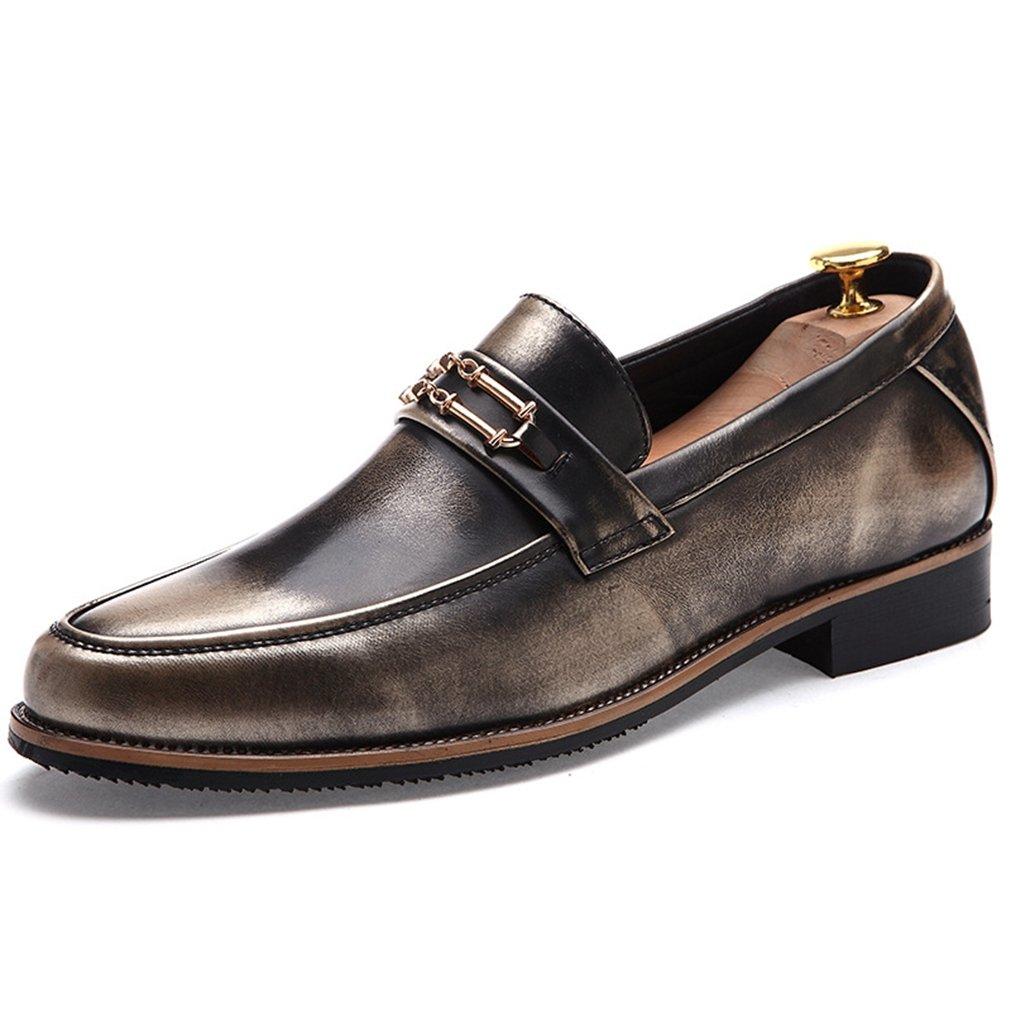 Feidaeu - Brogue Hombre 42 EU|dorado Zapatos de moda en línea Obtenga el mejor descuento de venta caliente-Descuento más grande