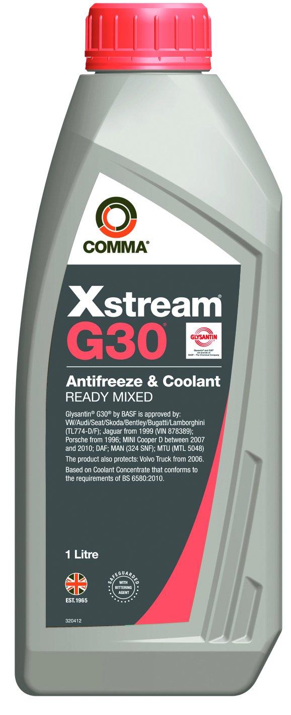 Comma XSM1L Xstream G30 - Lí quido anticongelante y refrigerante (1 l)