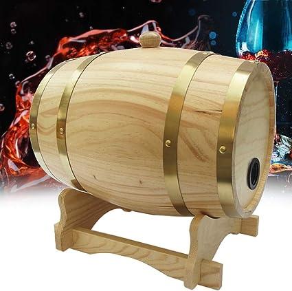 CS-art® 3 litros Barril Barril de Madera Hotel de Whisky ...