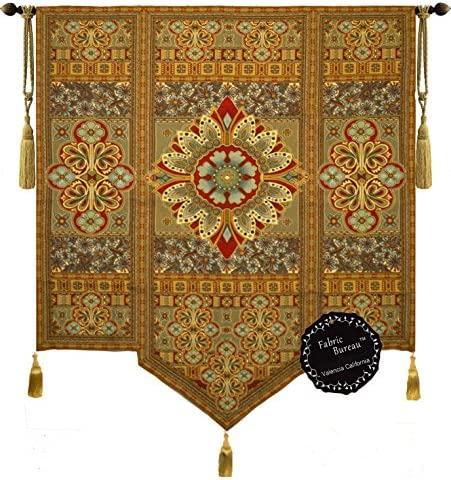 Fabric Bureau Beautiful Road to Moroccan Large Fine Tapestry Jacquard Woven Wall Hanging Art Decor